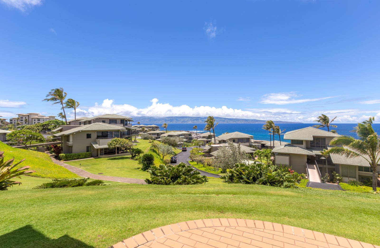 180 degree ocean views from 2 of the 3 private ground floor lanais