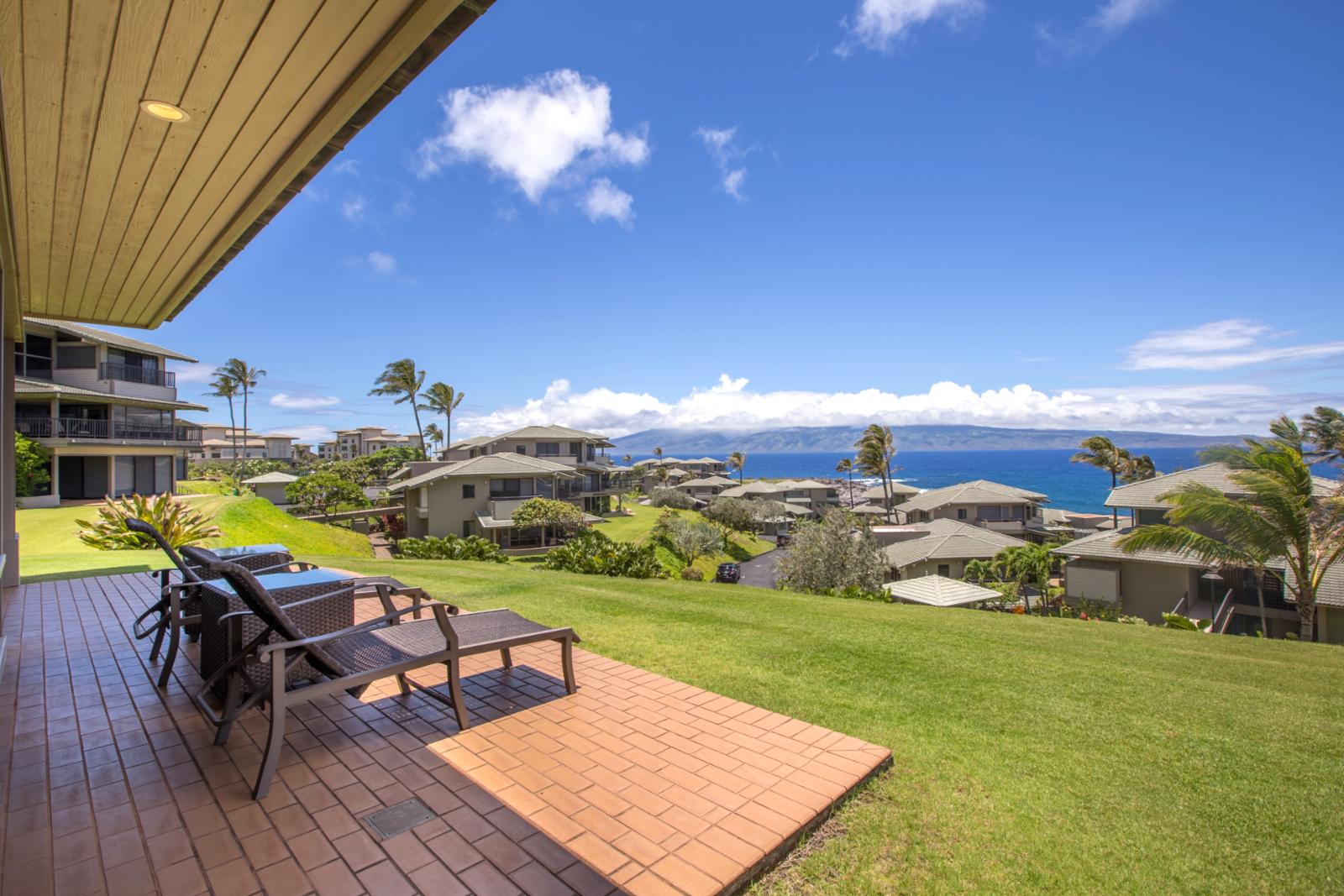 Endless ocean views and crisp ocean breezes!