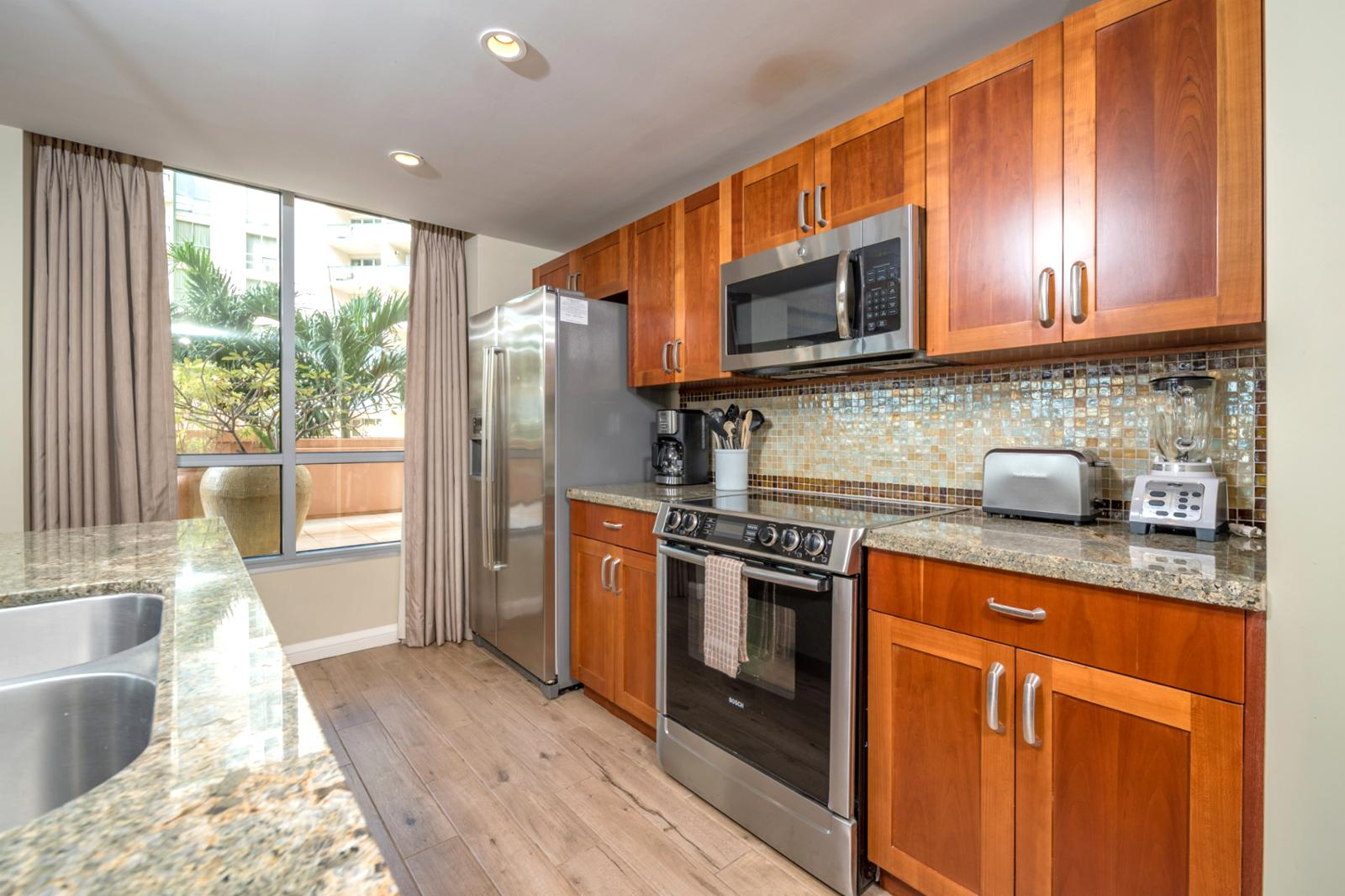 Chic, clean, and upgrade stainless appliances