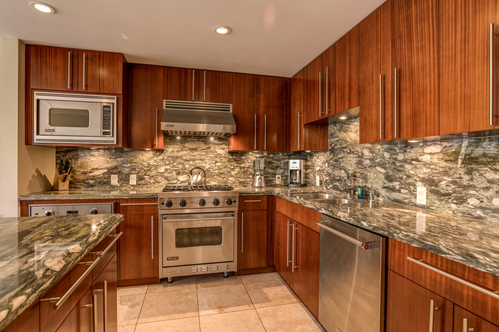 Stainless appliances throughout and overstocked with anything you will need