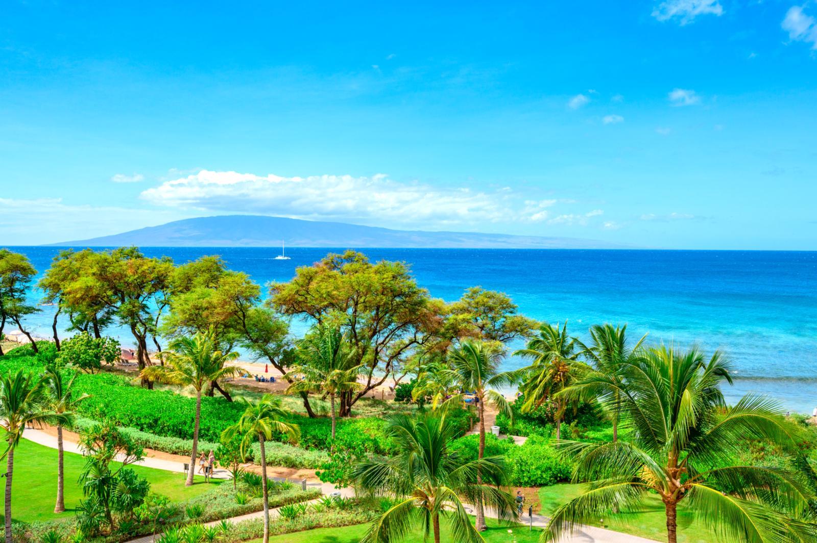 Amazing views of Lanai