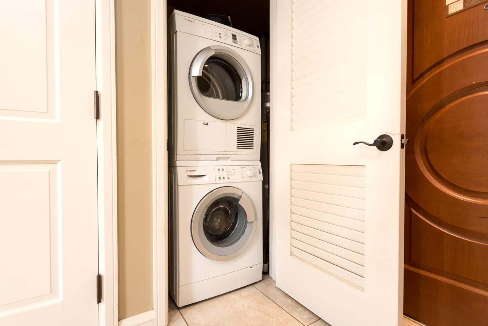 Laundry - in unit perfect for families