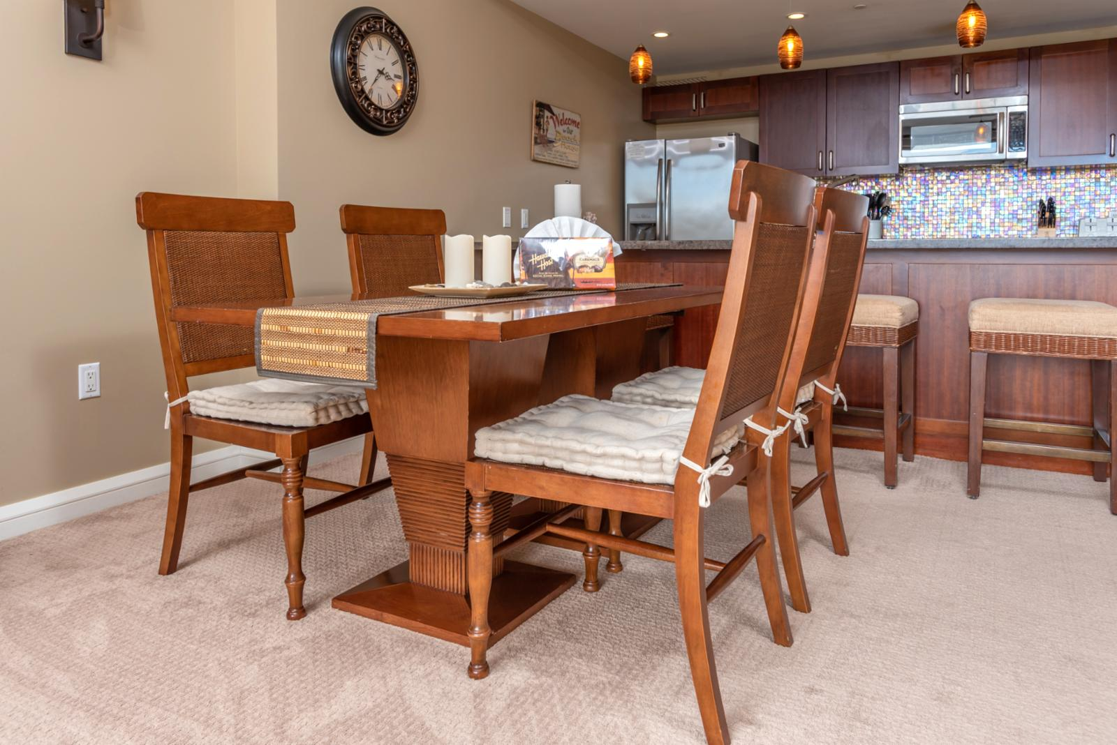LARGE formal dining room table