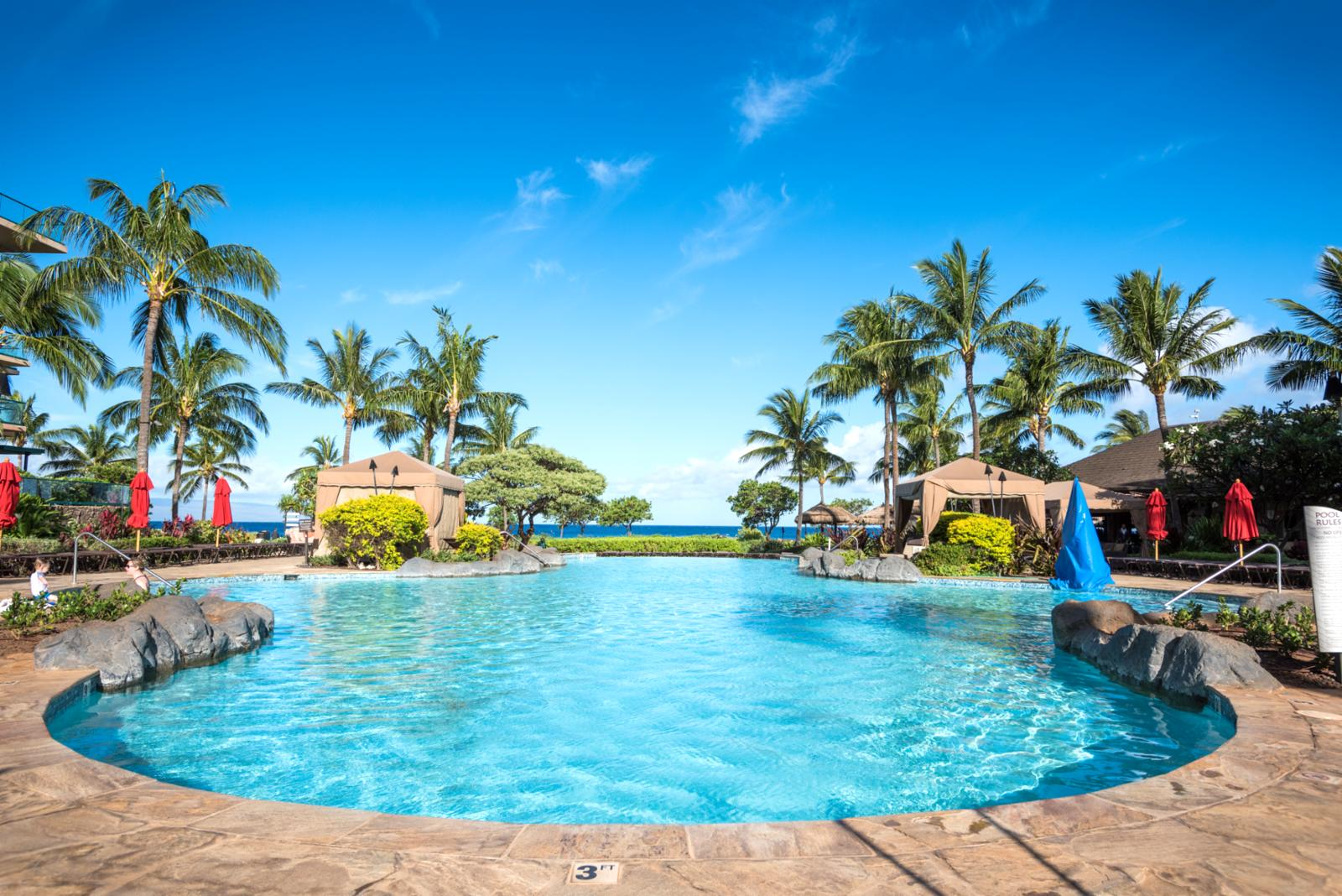 One of many pools here at Honua Kai