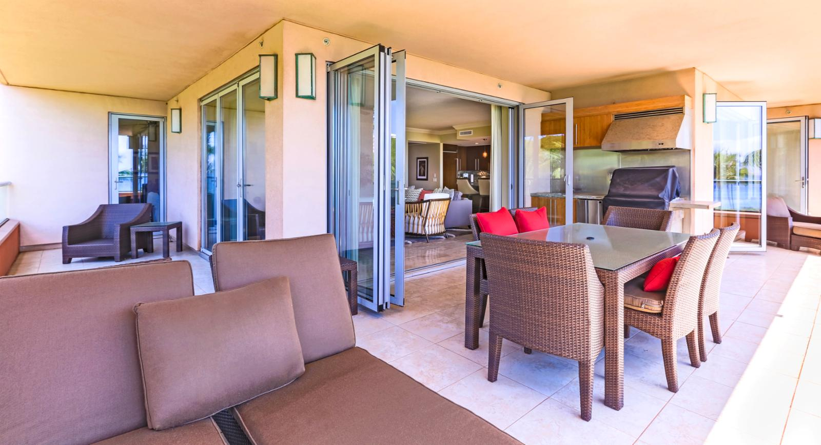 Relax away in your luxury private lounge chairs on the lanai.