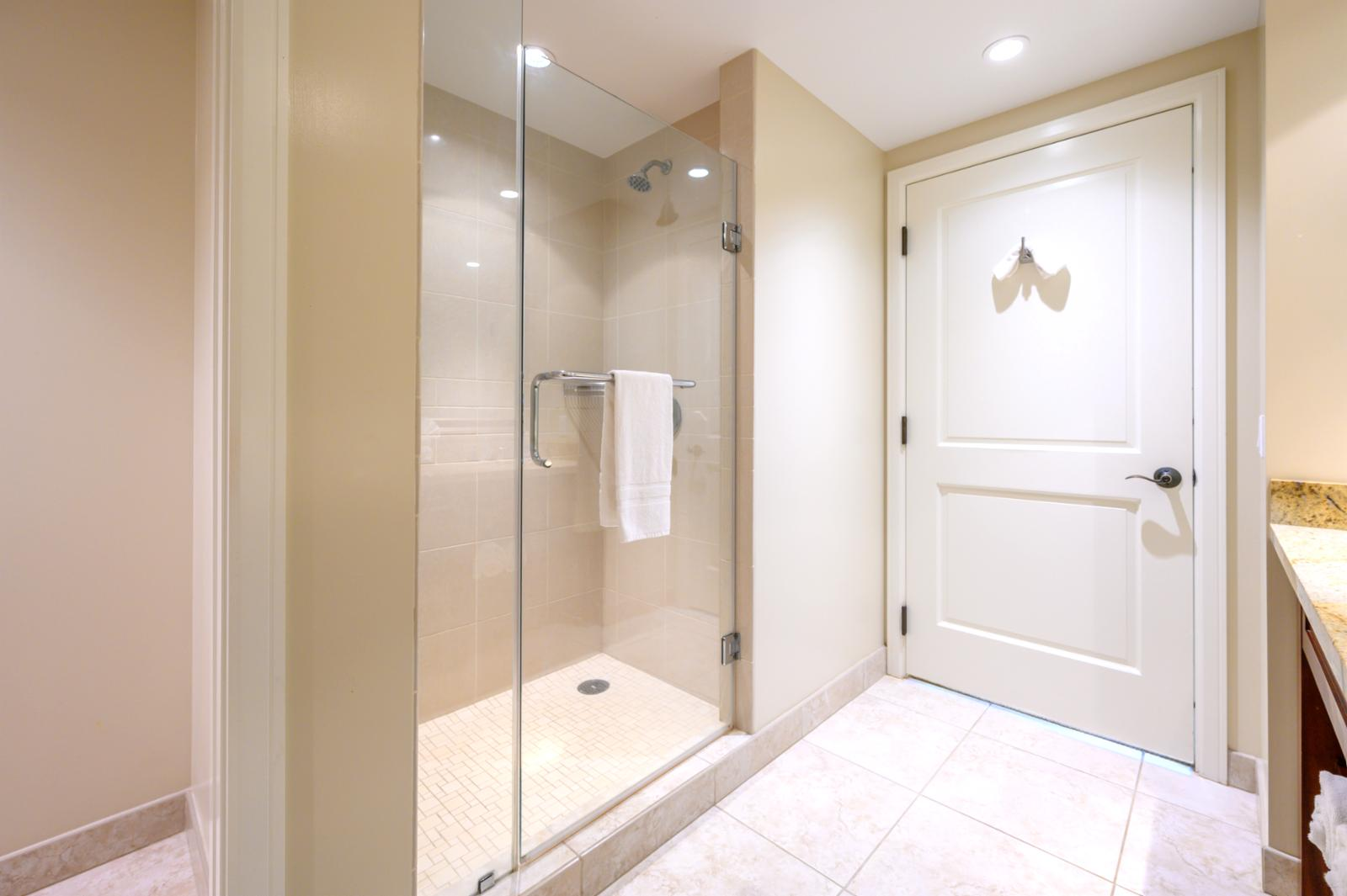 Master Bath with large walk-in shower