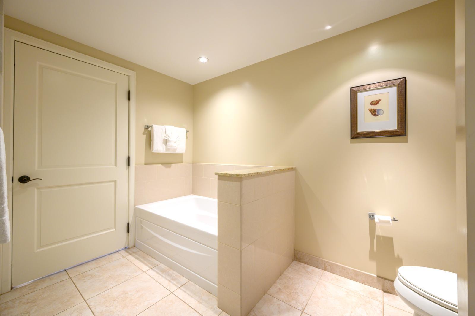 Second Bathroom with double vanity