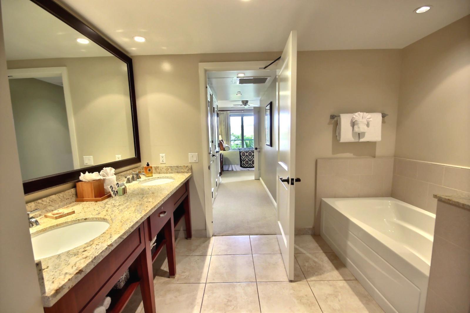 Bathroom Mirrors Hawaii kbm hawaii - honua kai #hkk-420 - luxury vacation rental at