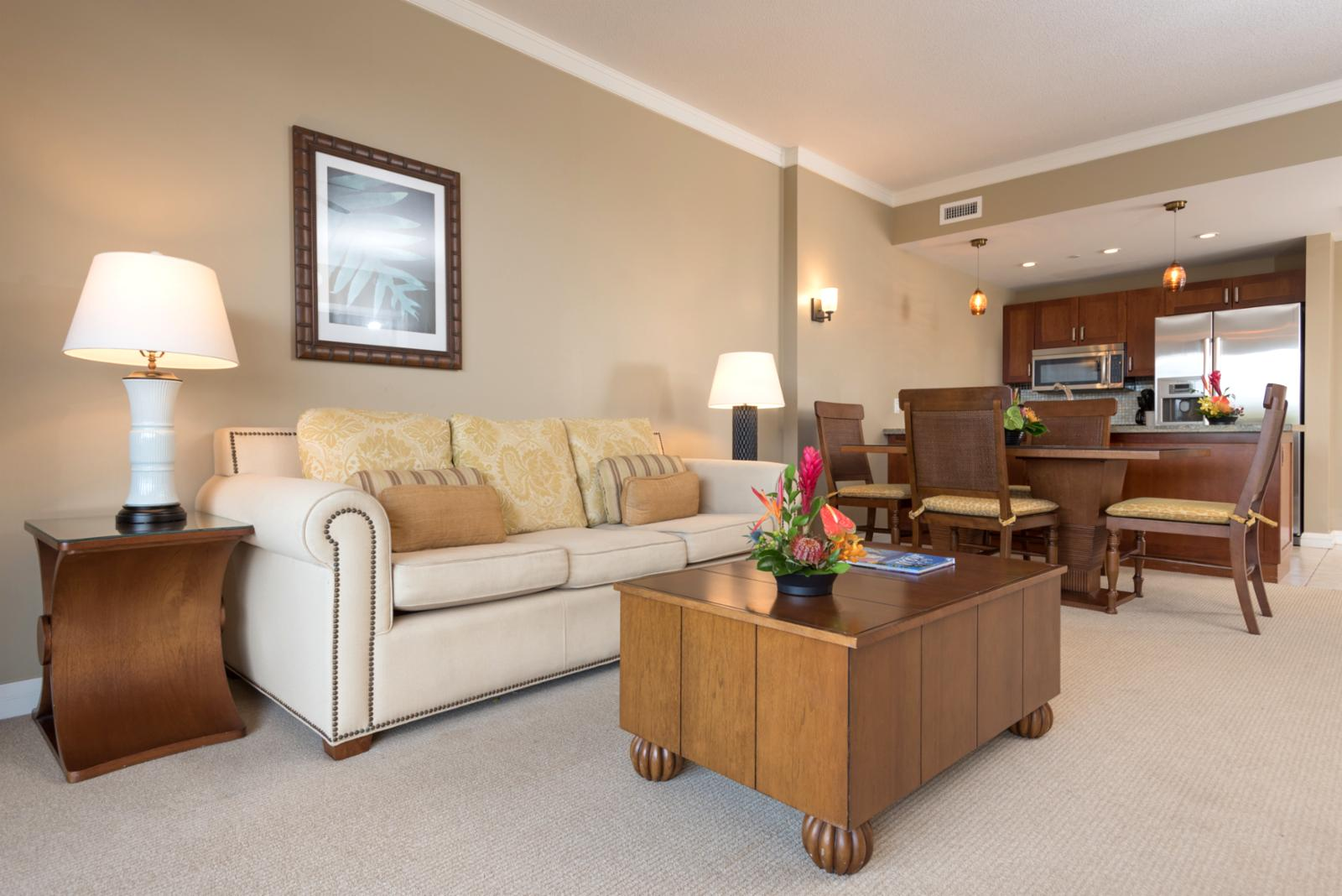 Open concept and perfect layout for families or entertaining