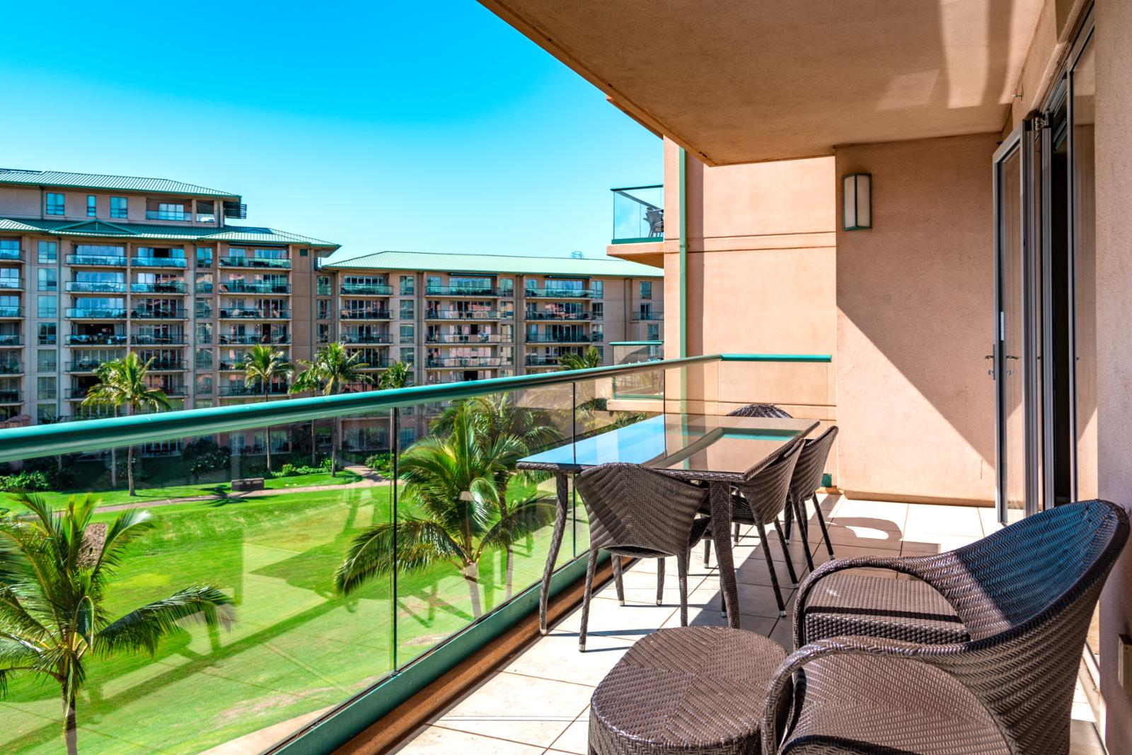 Relax on your private balcony with cool ocean breezes