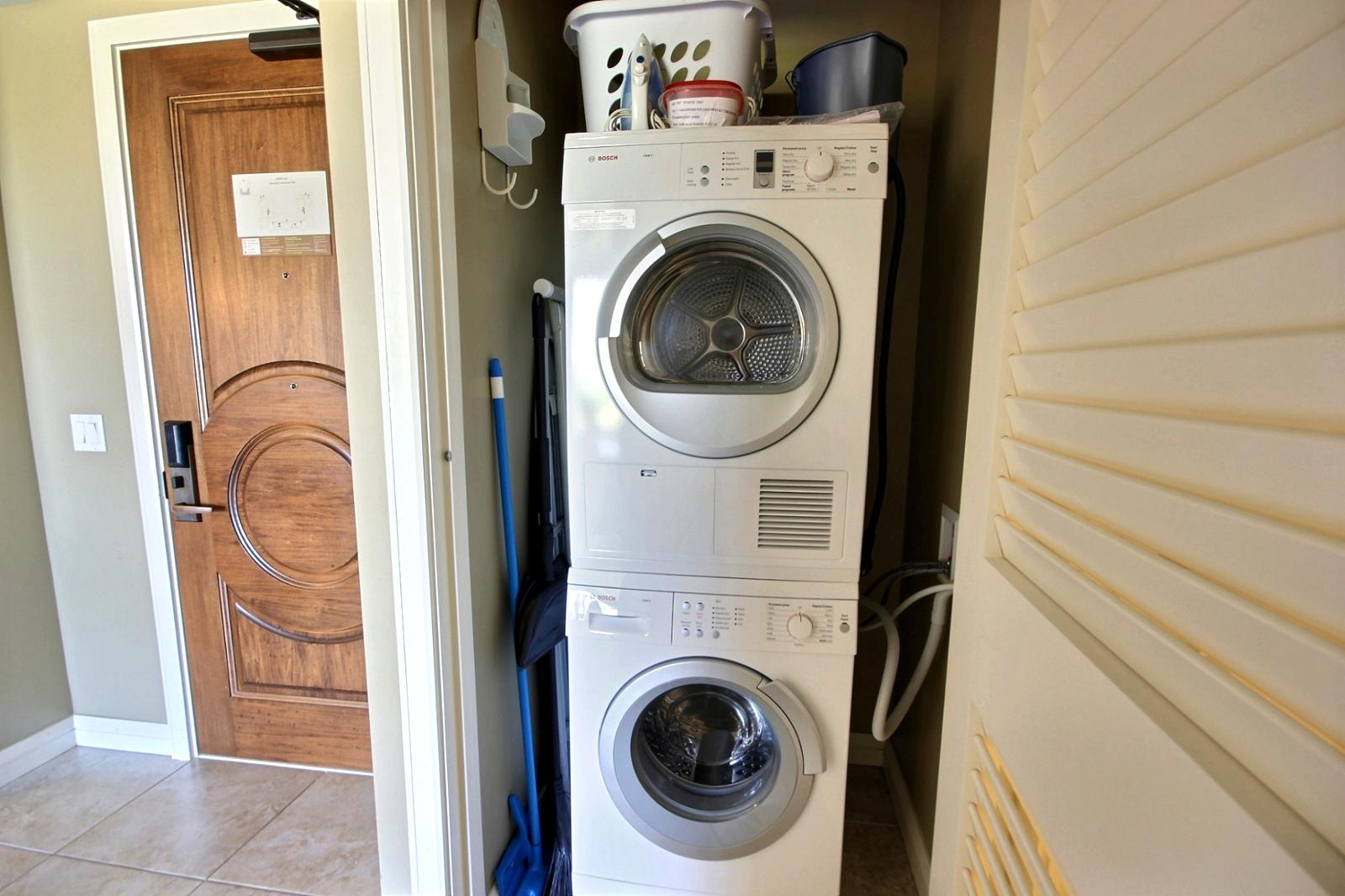 Bosch Washer & Dryer