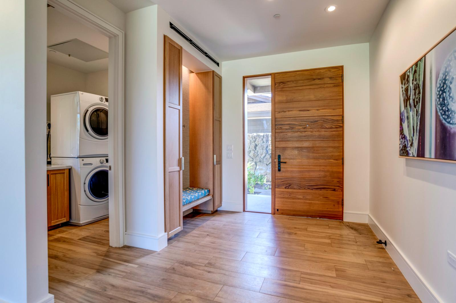 Laundry and Entryway