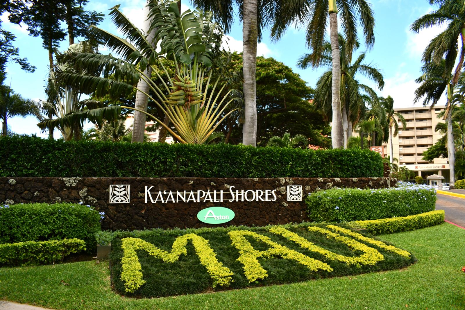 Welcome to Kaanapali Shores! Located at the world famous Kaanapali Beach, Maui!