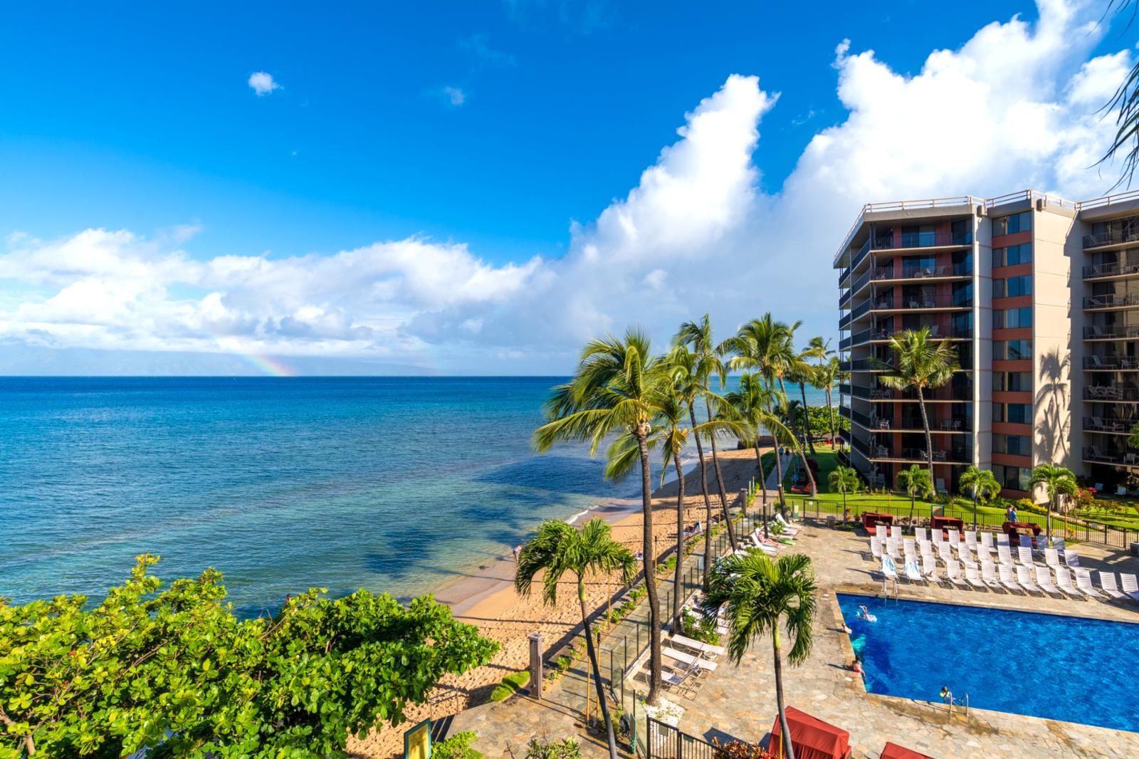 Aqua marine views from your balcony