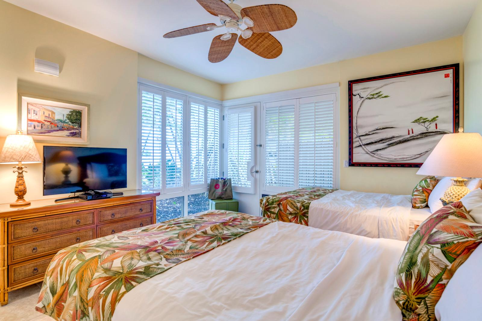 Comfortable layout with private access to lanai