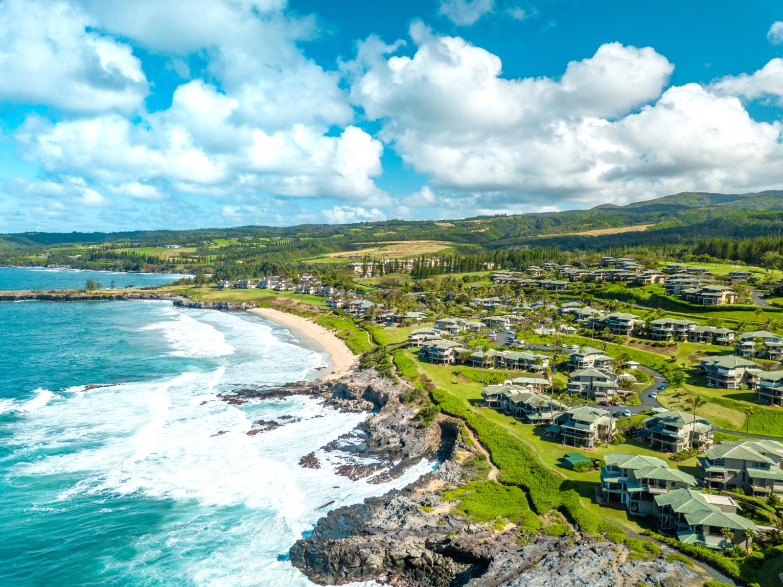 Come experience this stunning beach and golf resort in Kapalua