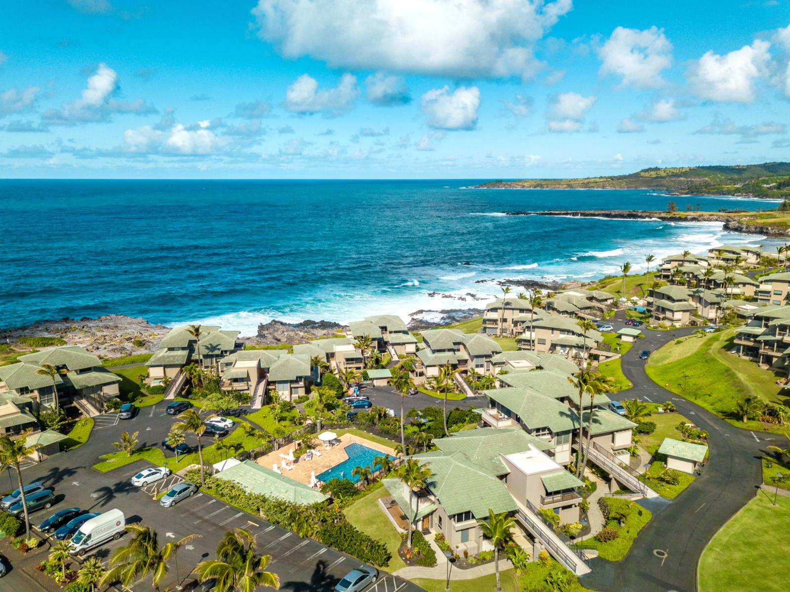 The Kapalua Bay Villas are a stunning costal community built with luxury accommodations