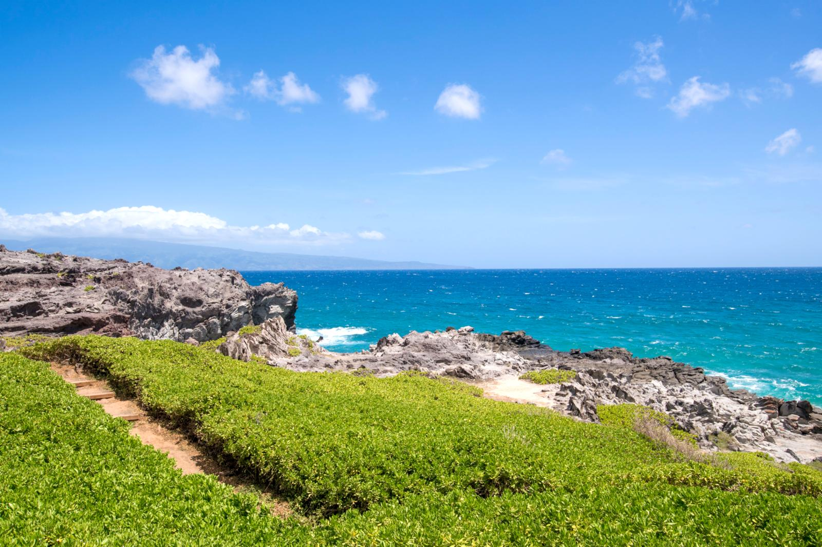Walk right out to The Kapalua Coastal Trail