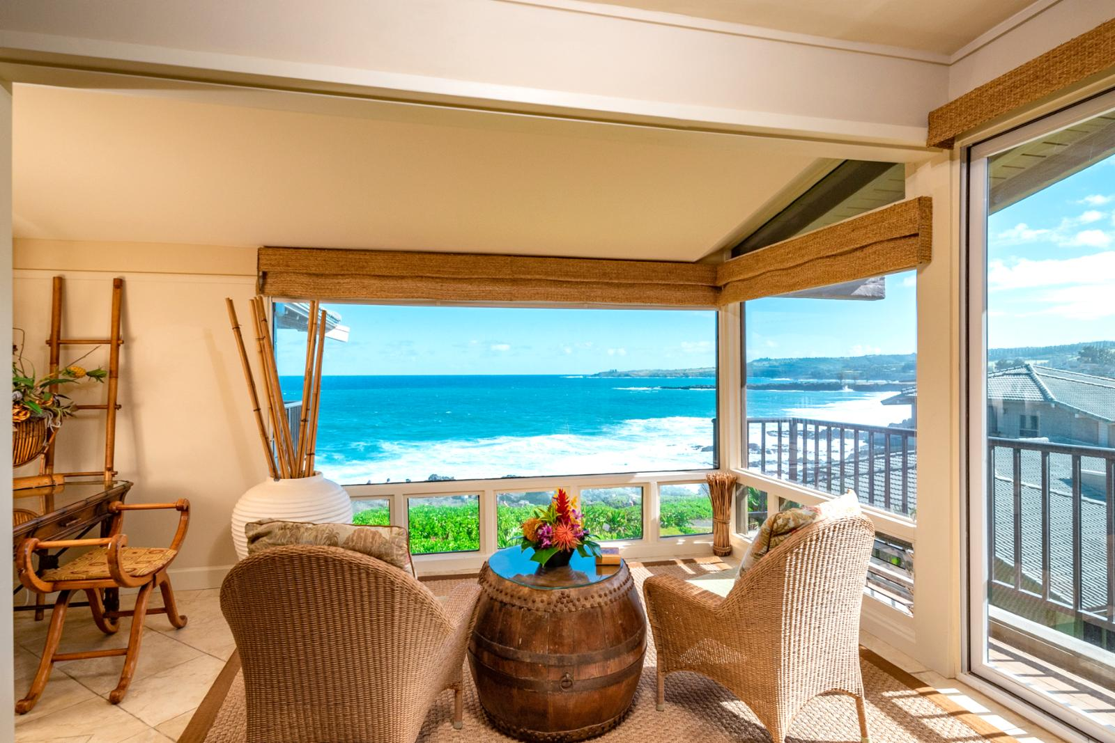 Sit back, relax, and enjoy these sweeping views!