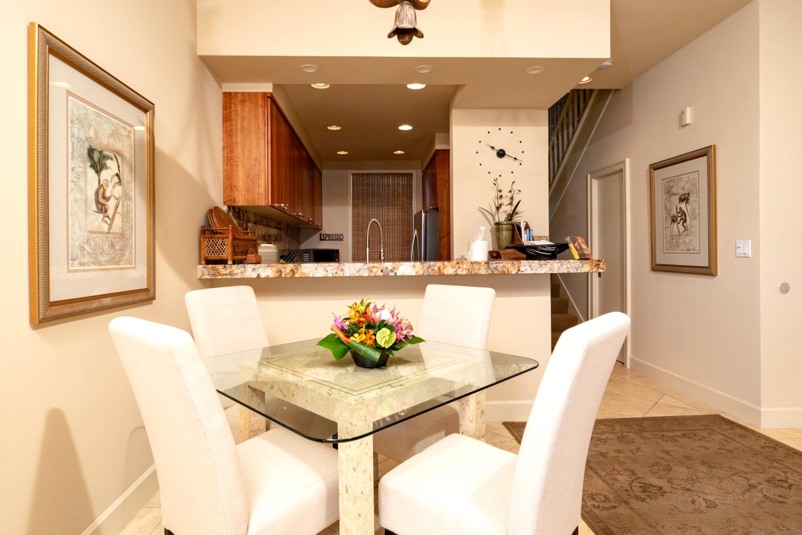 Formal dining for (4)