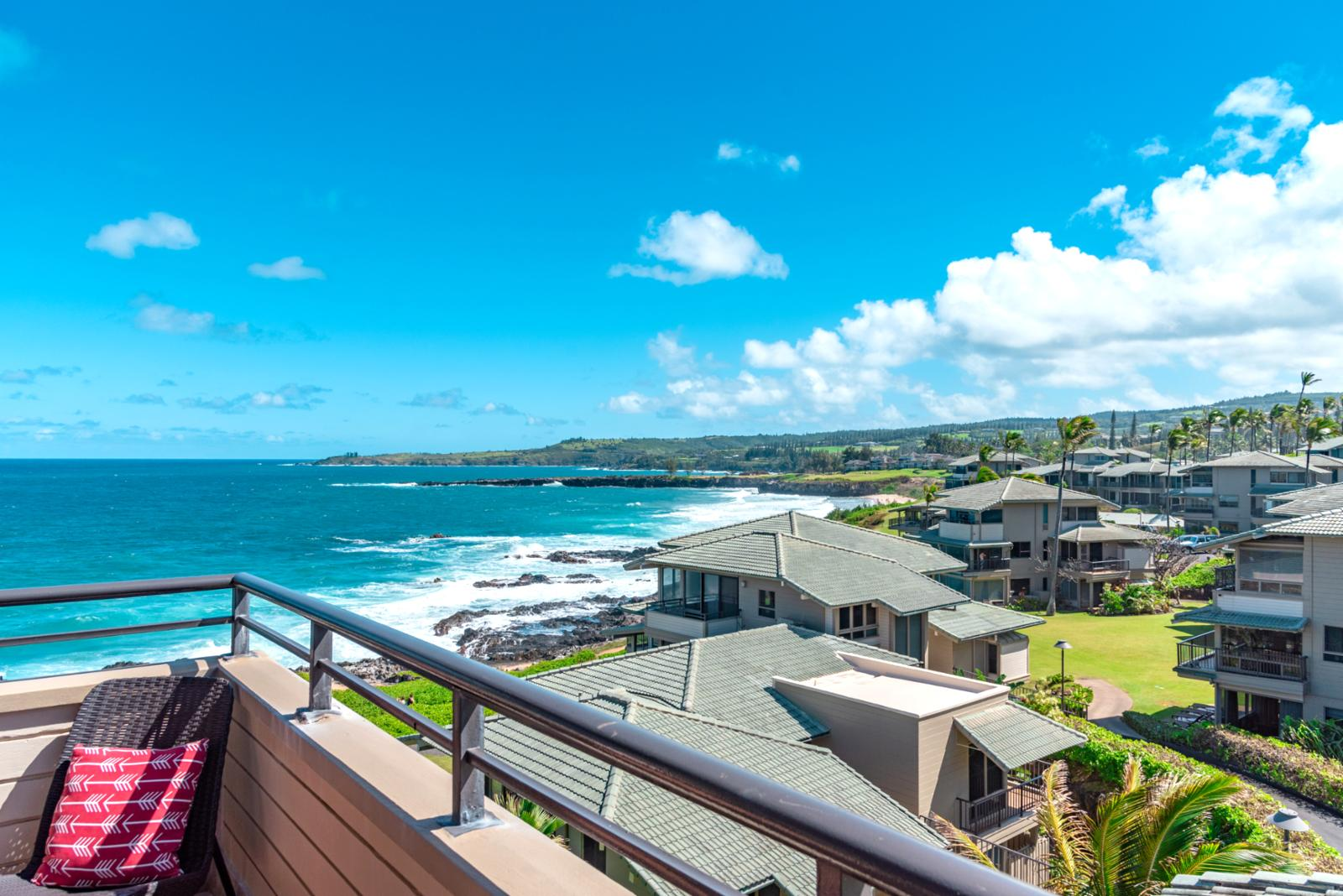 Stunning views of Onela Bay