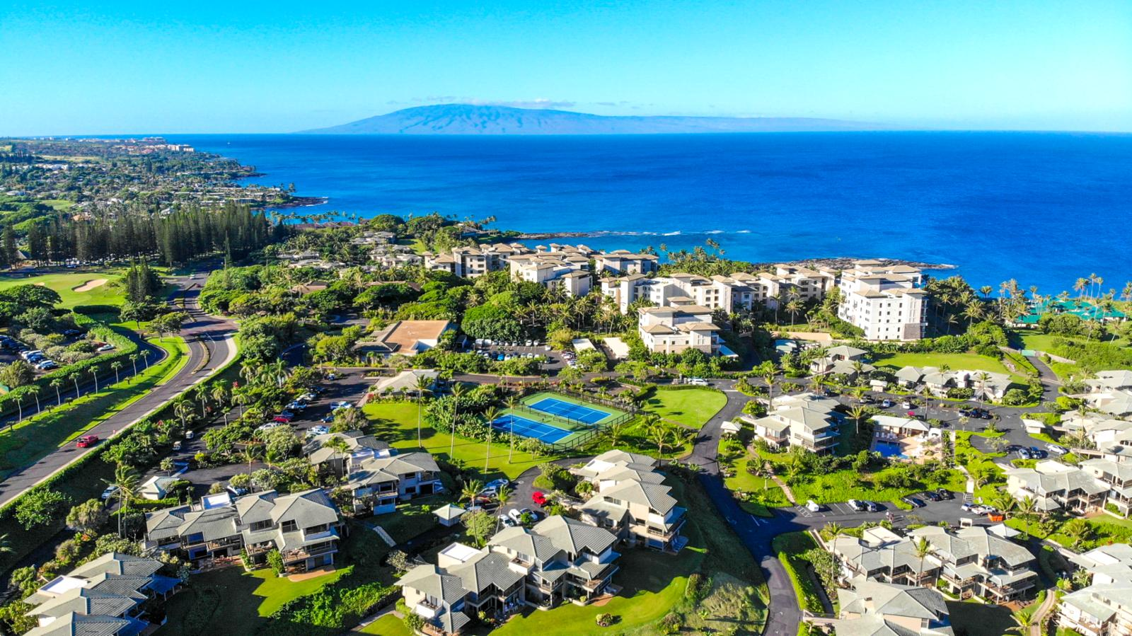 Stunning views from The Kapalua Bay Villas!