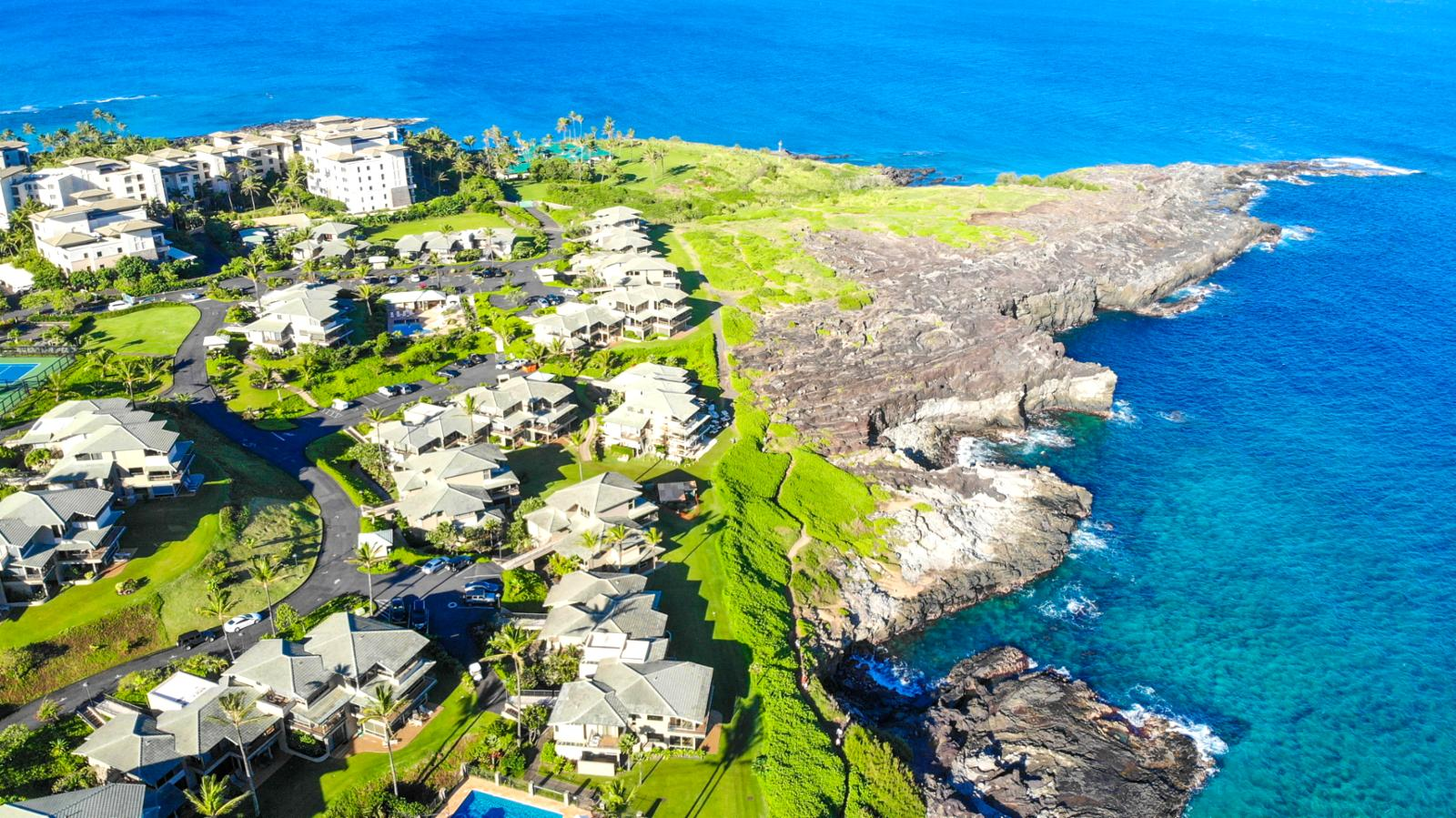 The Kapalua Coastal Trail wraps direct to Kapalua Bay