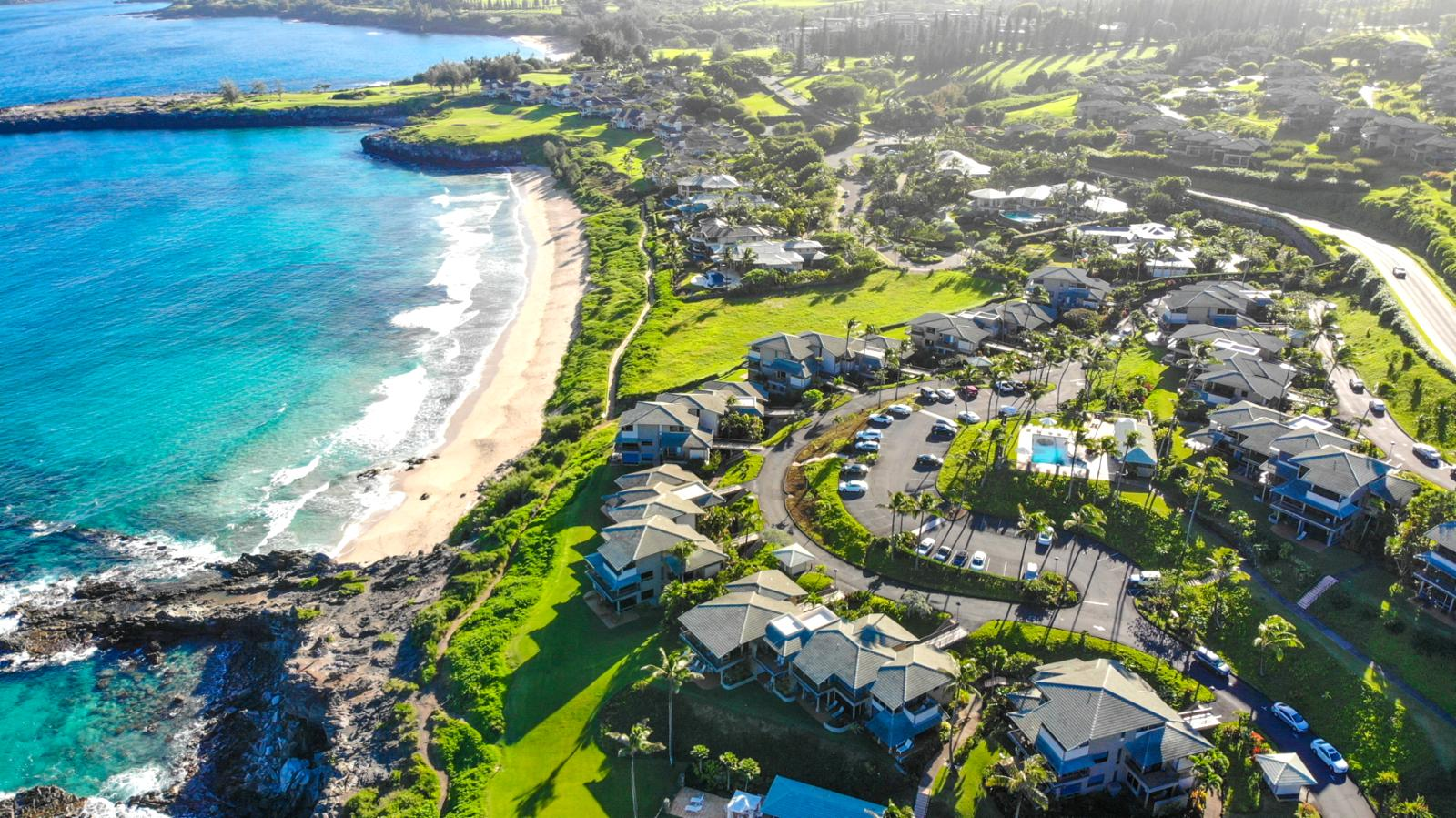 The Kapalua Coastal Trail, just steps away from your villa!