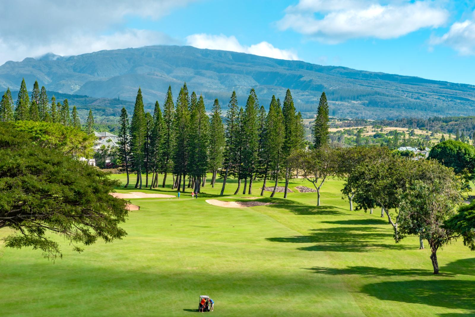 Enjoy mountain views and cool breezes rolling off from the West Maui Mountains