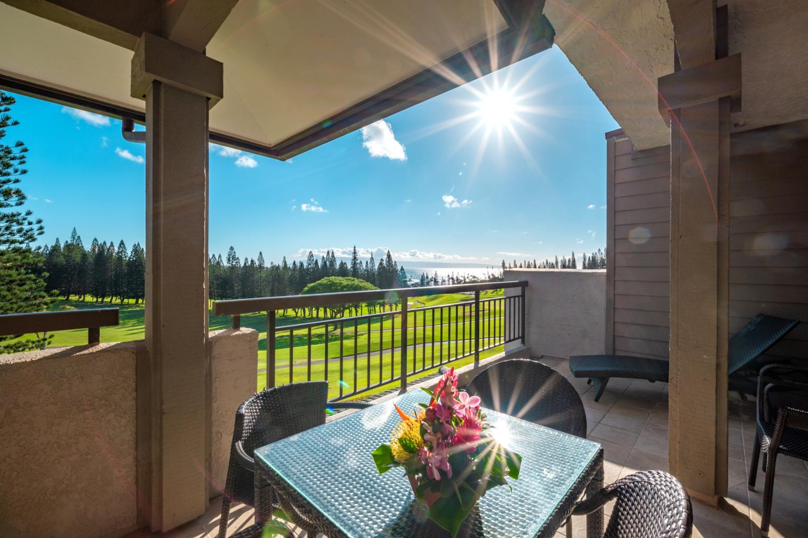 Welcome to Kapalua Golf Villa 11T2! Right on the fairway of The Bay Course!