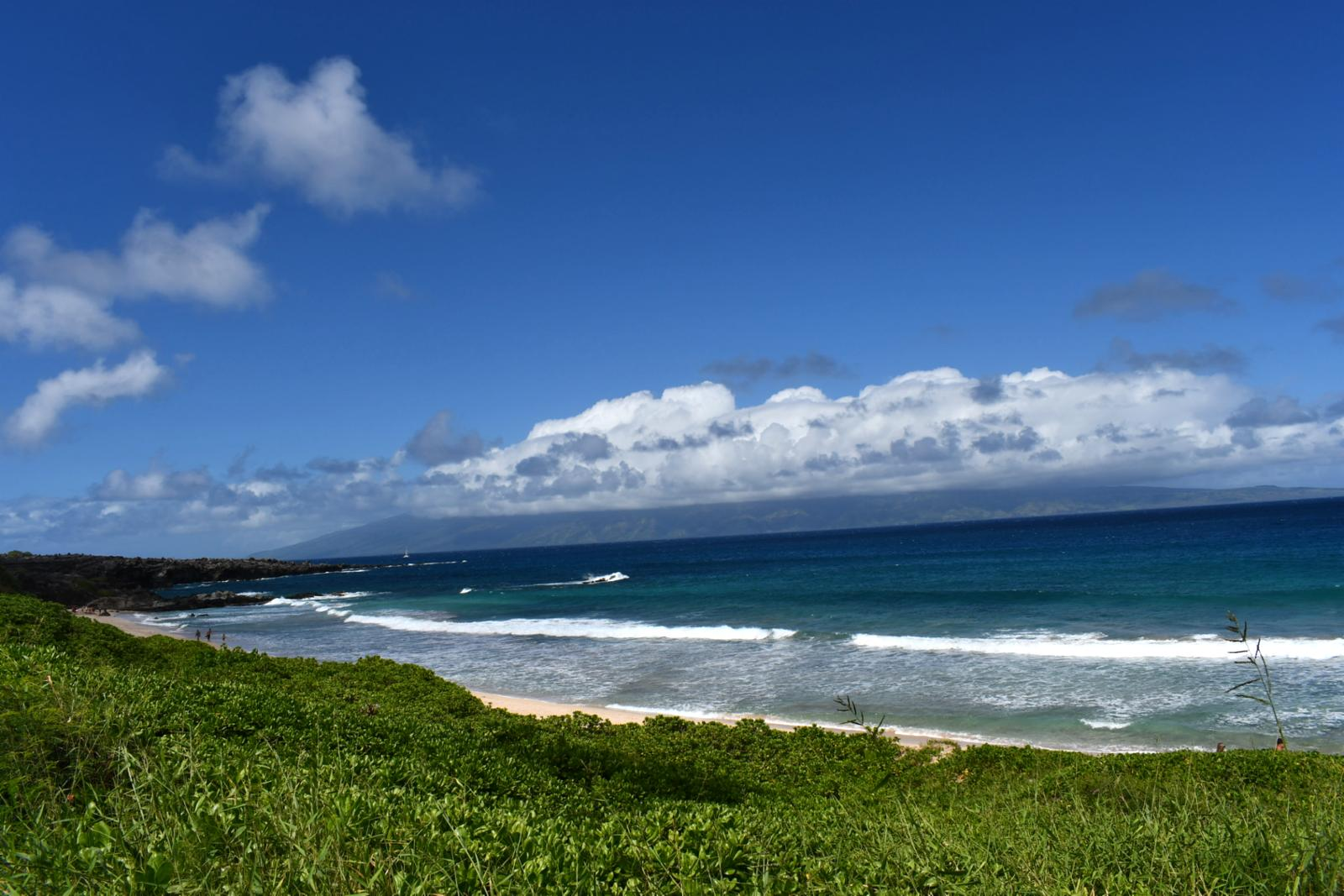 The world famous Onela Beach along the Kapalua Coastal Trail!