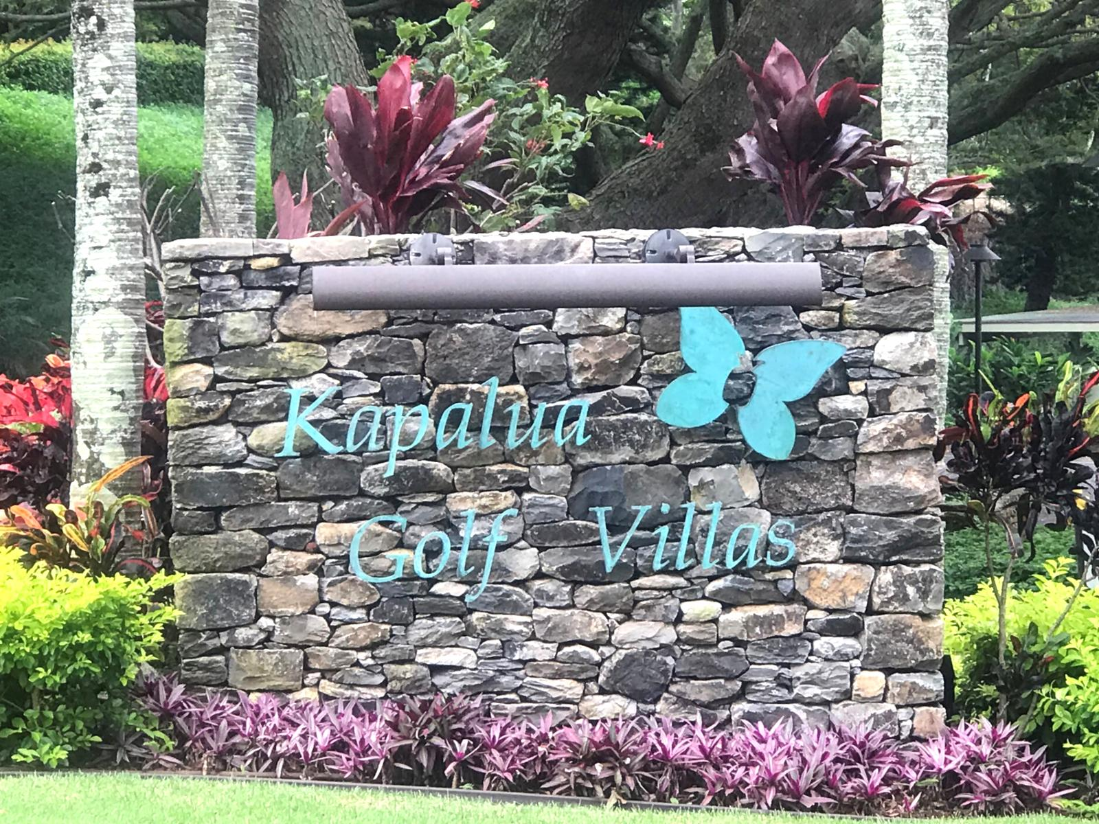 Entry to Kapalua Resort!