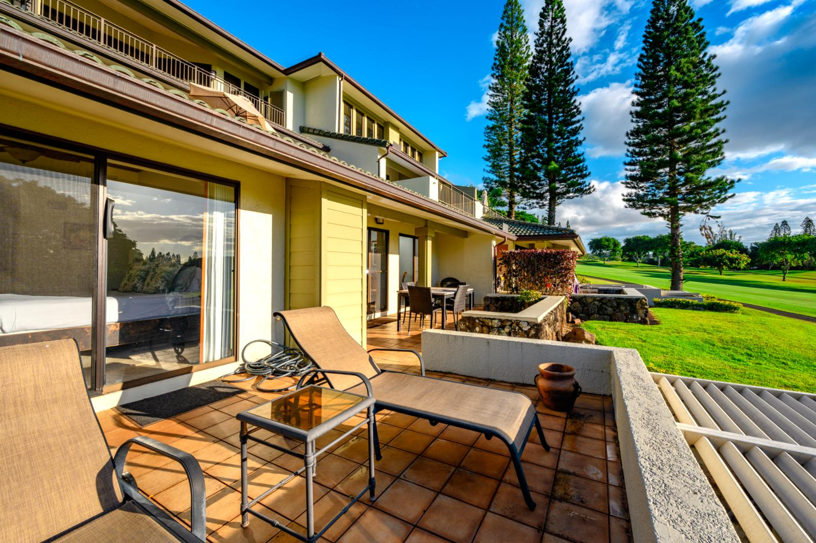 Outstanding Views from Lanai