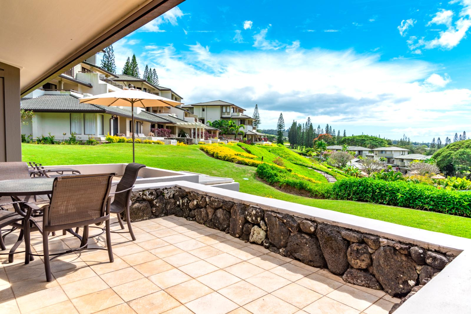 Sweeping views of Kapalua