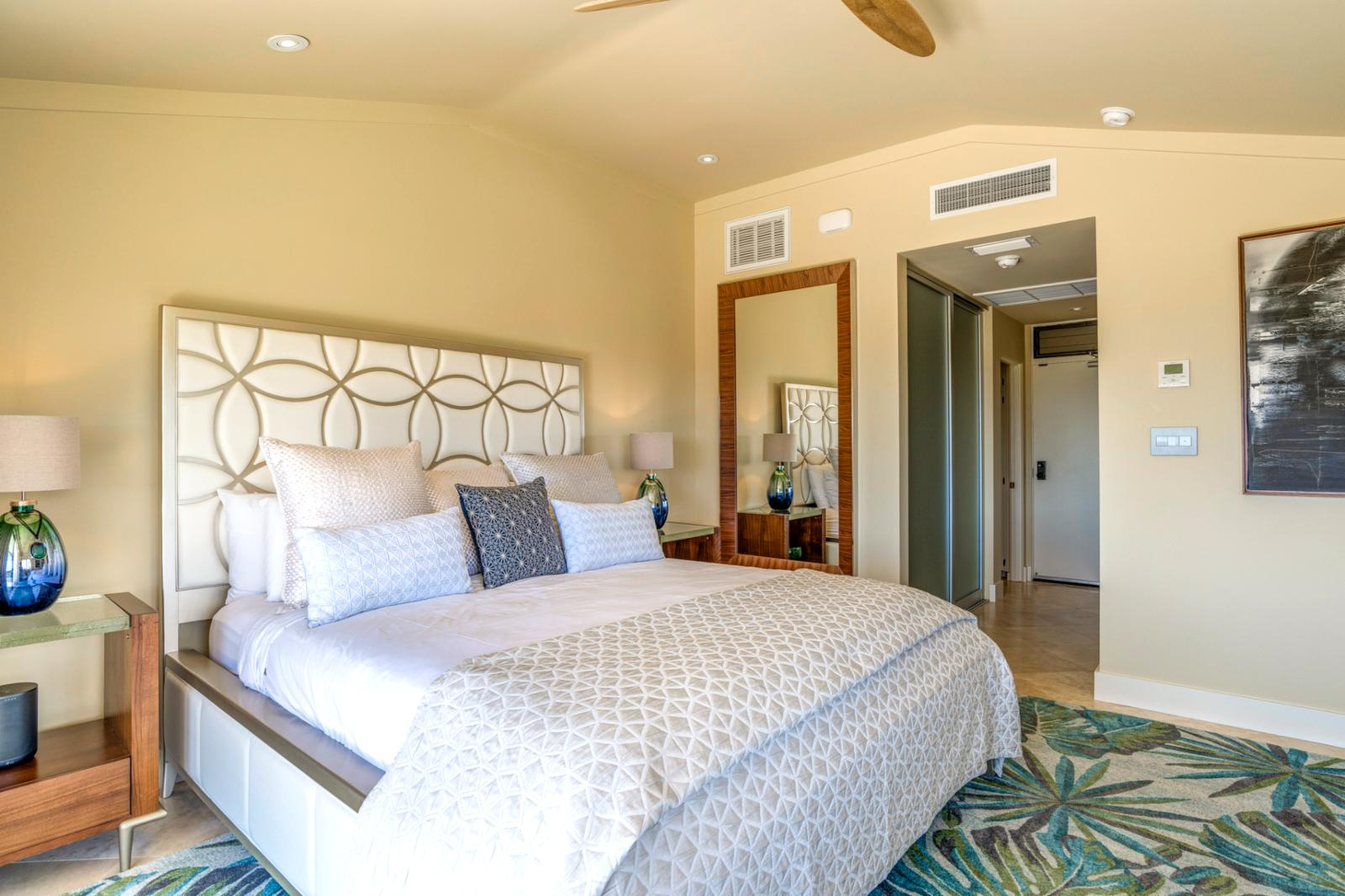 Elegant interior upgrades, jaw dropping master bedroom ocean views