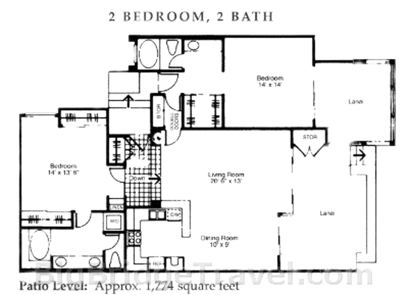 Generous oversized layout
