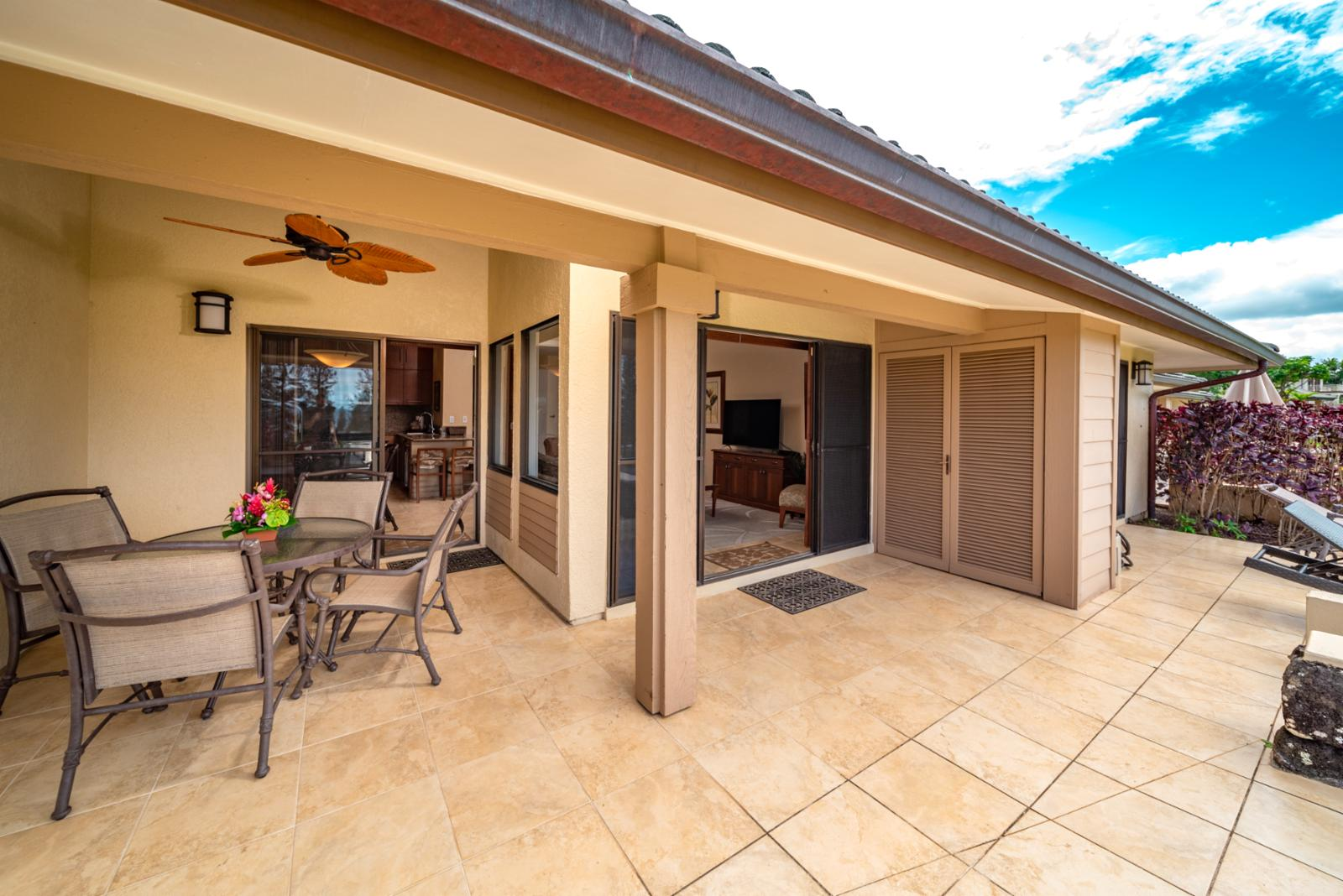 Large layout and stunning views of Molokai