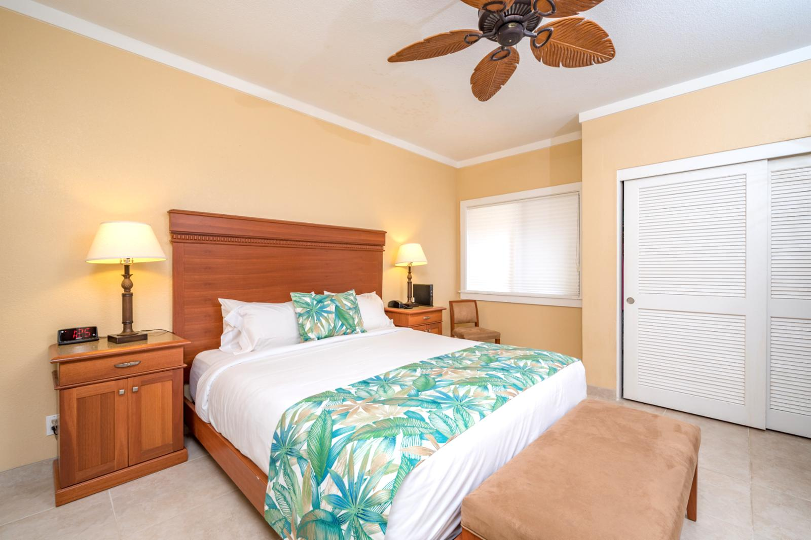Beautiful master suite and tons of additional storage available