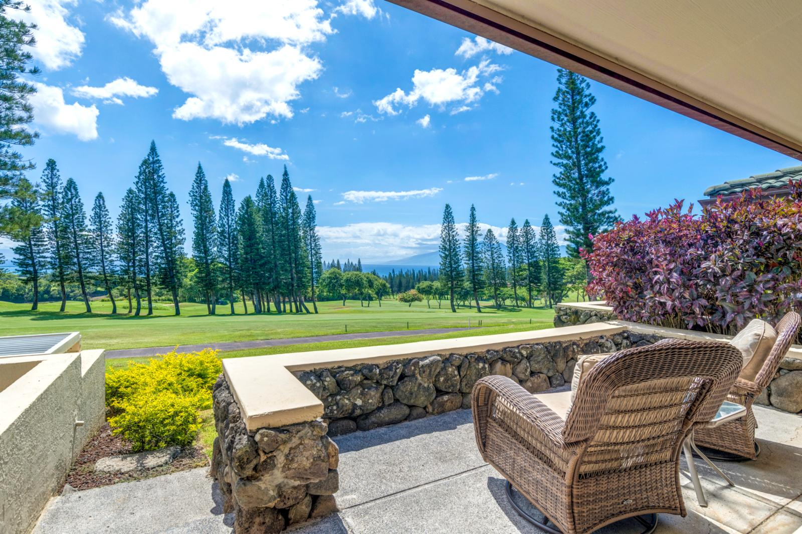 Stunning, aqua marine views from this RARE villa! Welcome to Golf Villa 27P5-6!