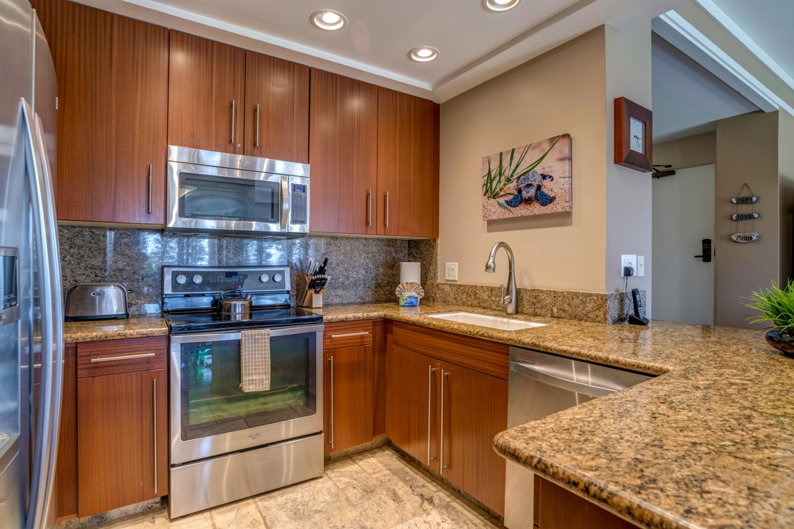 Stainless steel appliances throughout and amazing upgrades!