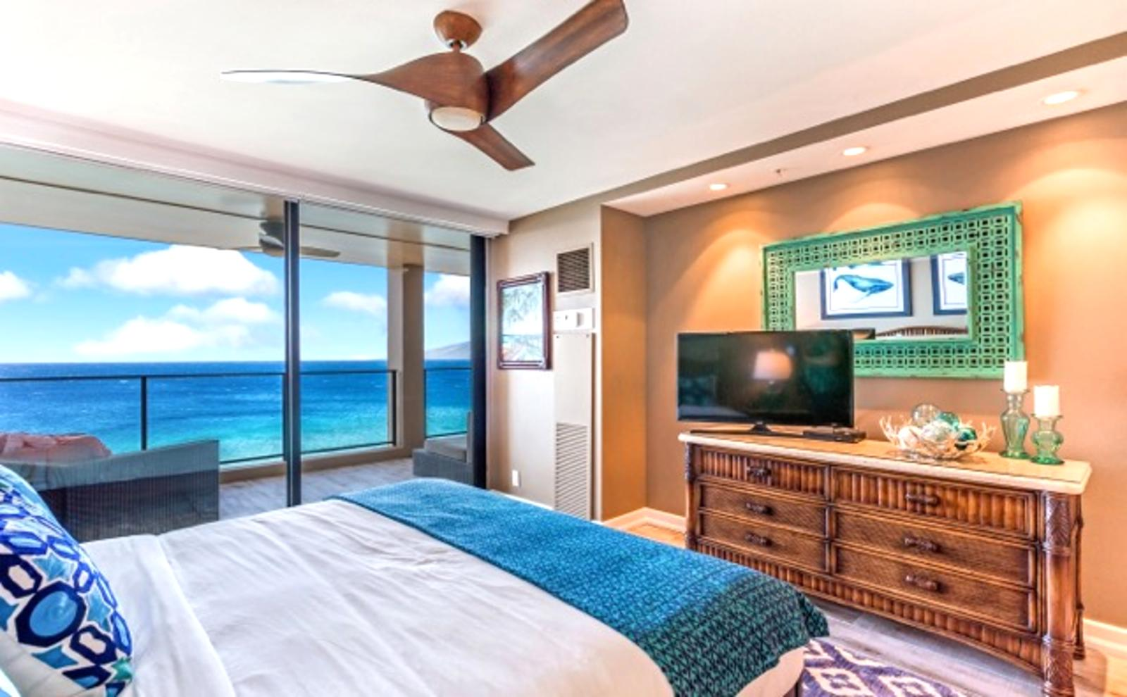 Sleep next to the sounds of the ocean