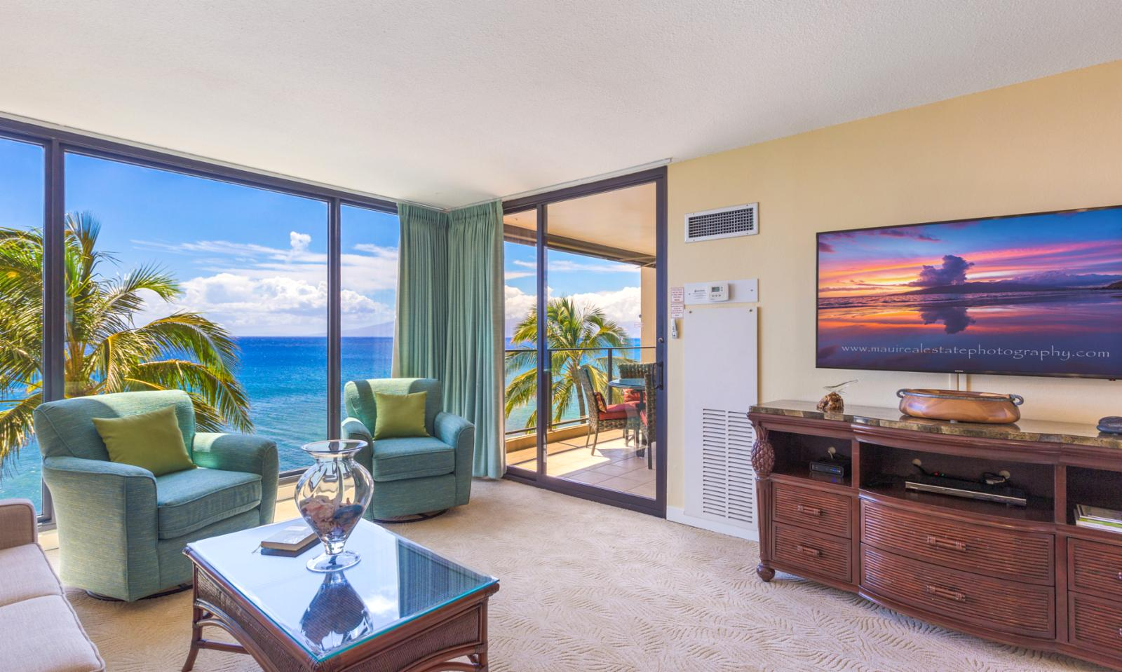 See Molokai from your balcony