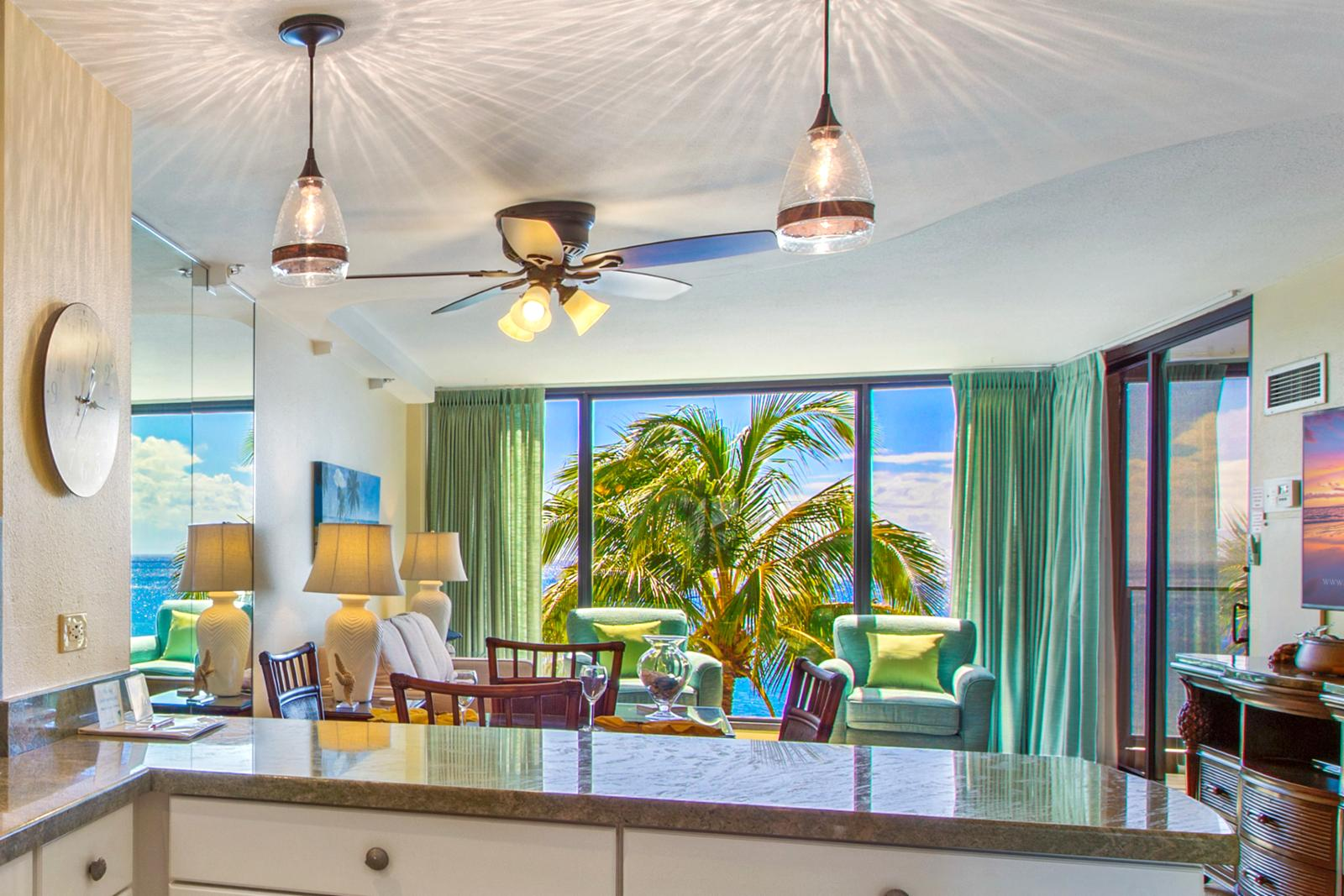 View the ocean from your kitchen!