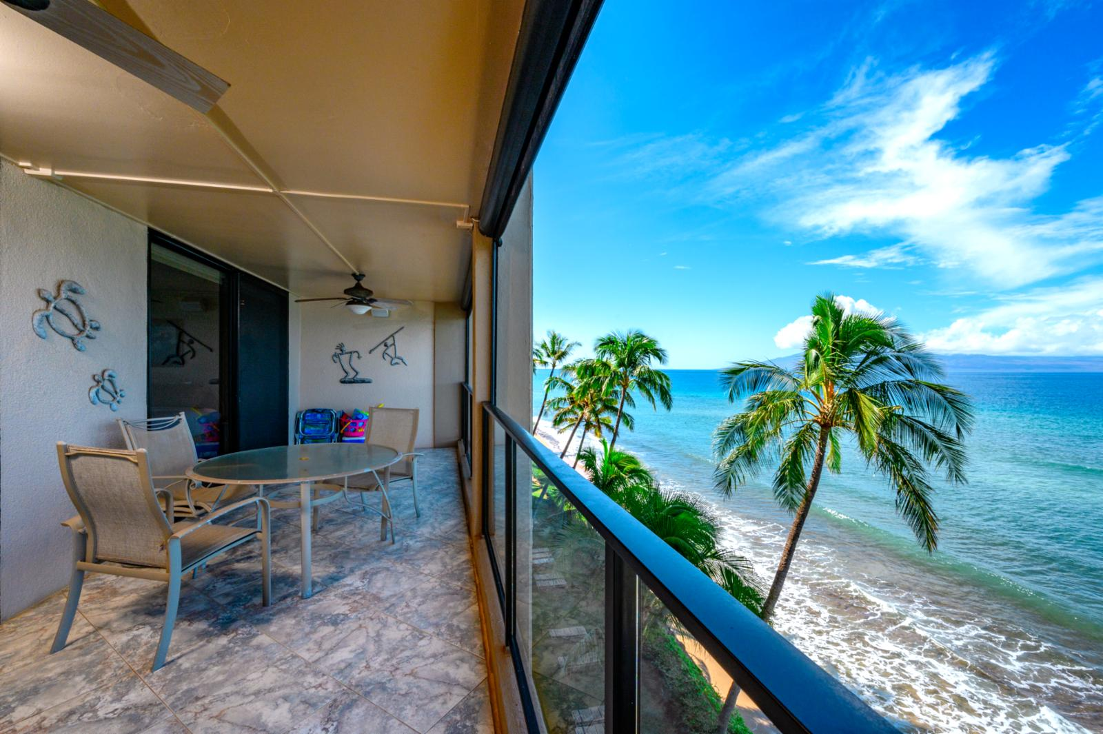 Welcome to Mahana 609! Endless ocean views
