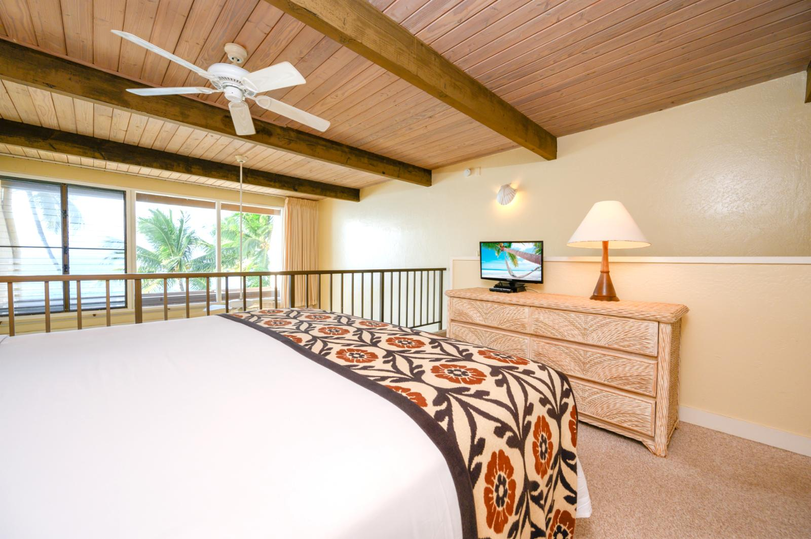 Stunning ocean views from the 2nd floor master suite
