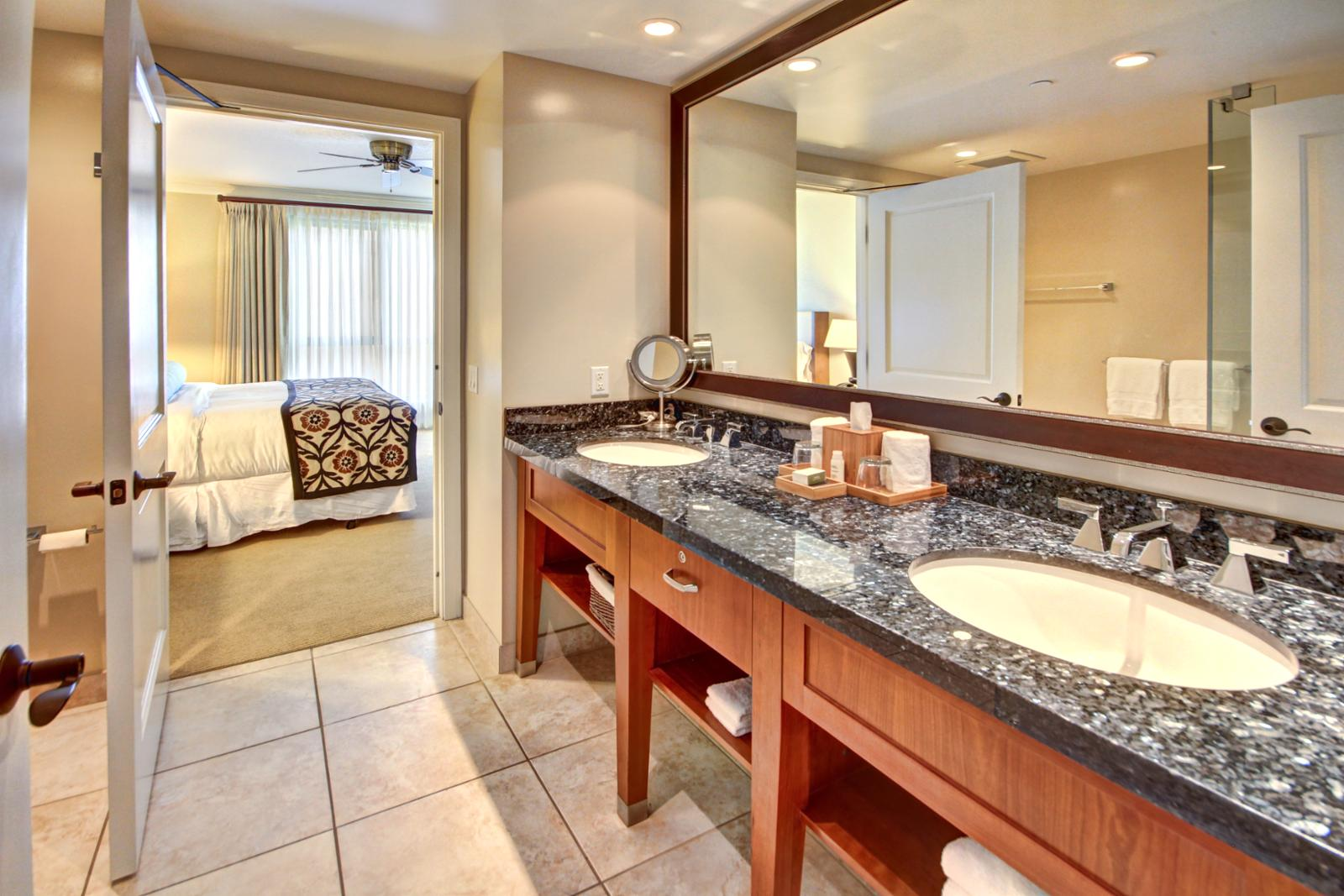 Private Entrance Into The Guest Bathroom From Bedroom Or Living Room