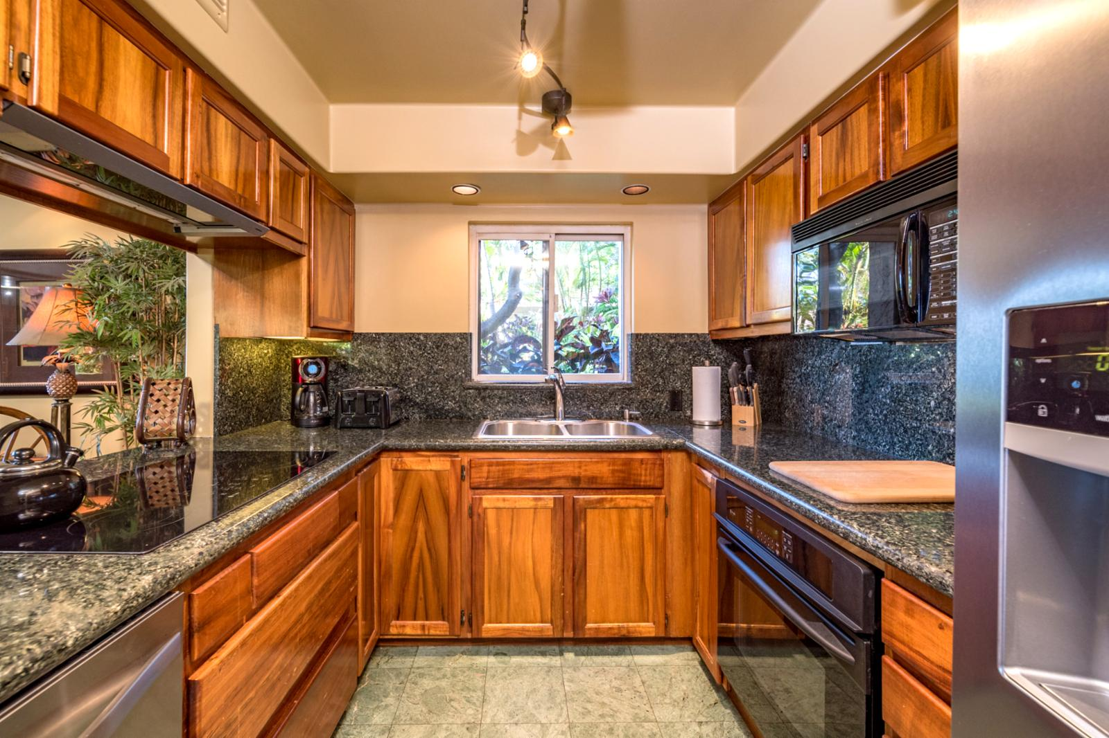 Appliances professionally cleaned between each check in and check out