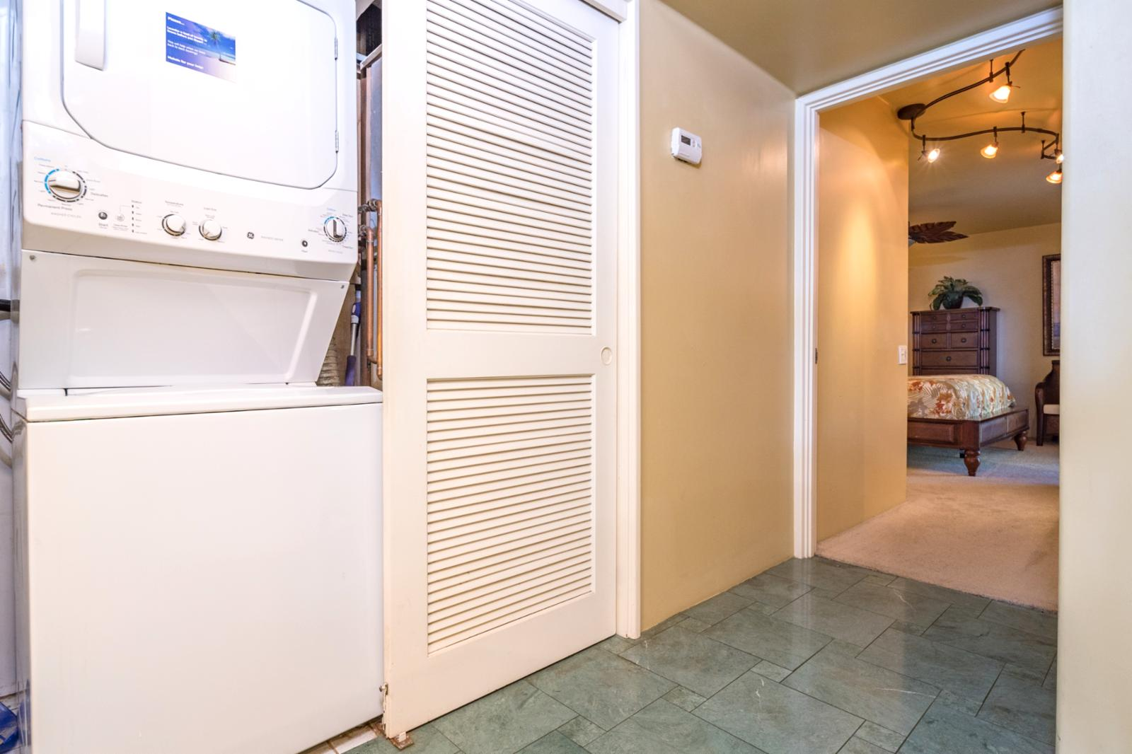 In villa laundry unit, ready for your use!