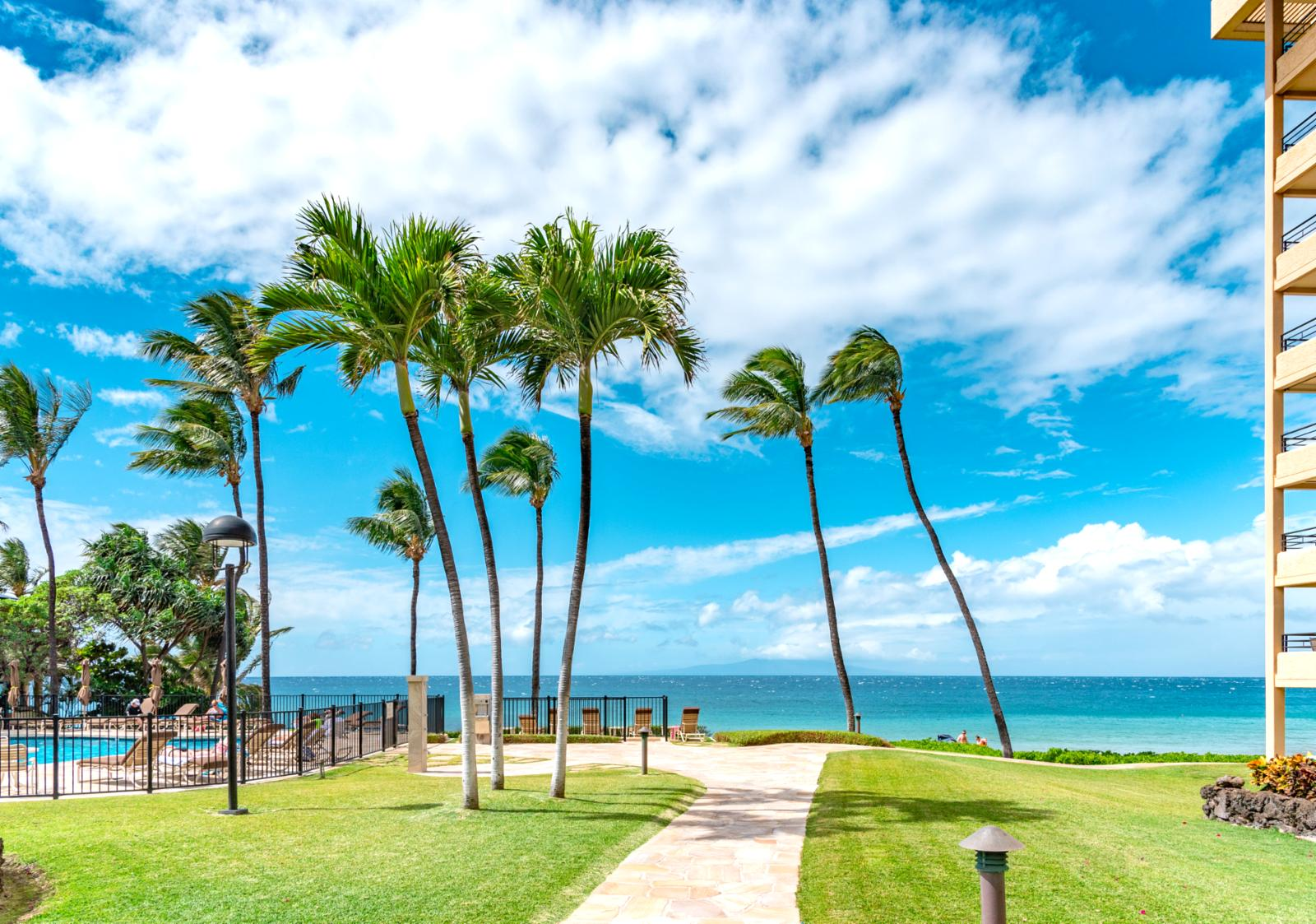 Walking paths to the beach and just a few steps away from your unit