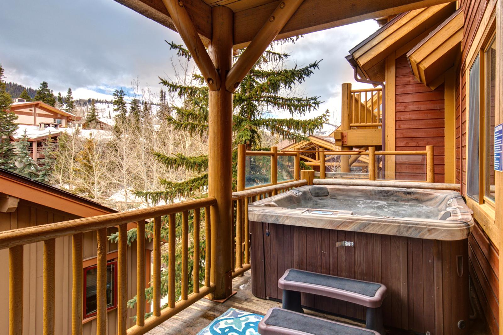 Relax and unwind after a long day on the mountain